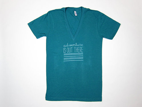 ADVENTURE IS OUT THERE | UNISEX TSHIRT