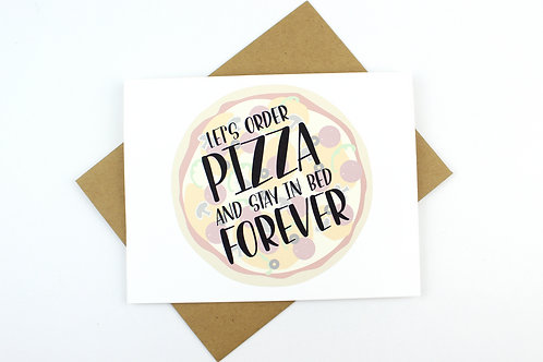 LET'S ORDER PIZZA | CARD | WHOLESALE