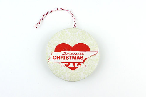 IT'S A TENNESSEE CHRISTMAS Y'ALL | ORNAMENT