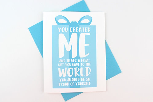 YOU CREATED ME | CARD | WHOLESALE