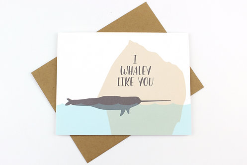 I WHALEY LIKE YOU | CARD | WHOLESALE