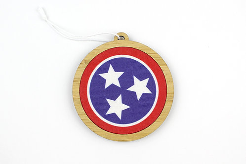 TENNESSEE FLAG | ORNAMENT | WHOLESALE