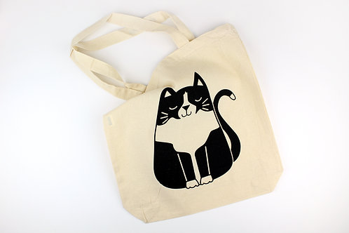 TUXEDO CAT   TOTE BAG   WHOLESALE