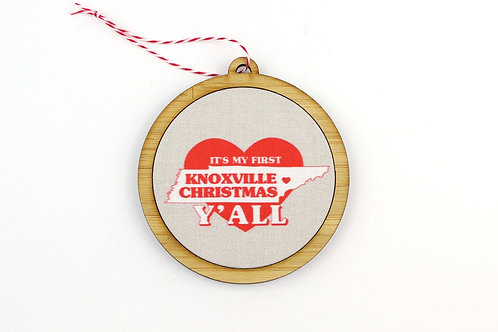 FIRST KNOXVILLE CHRISTMAS   ORNAMENT