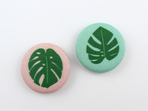 MONSTERA LEAF | SET OF 2 MAGNETS | WHOLESALE