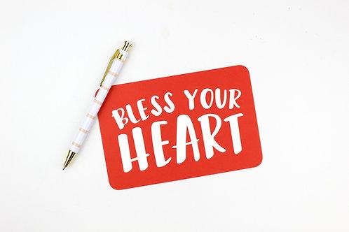 BLESS YOUR HEART | POSTCARDS | WHOLESALE