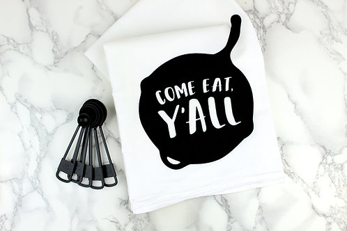 COME EAT, Y'ALL | KITCHEN TOWEL | WHOLESALE