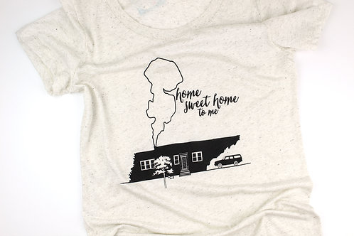HOME SWEET HOME TENNESSEE | WOMEN'S TSHIRT