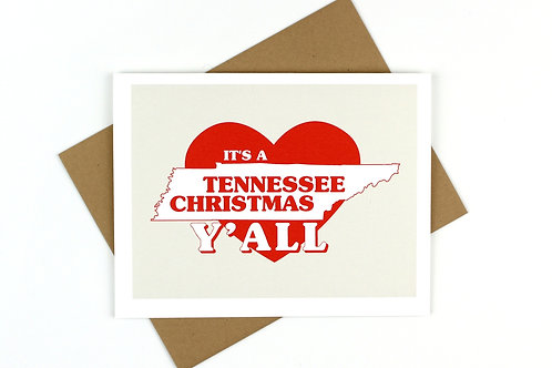 IT'S A STATE CHRISTMAS | CARD