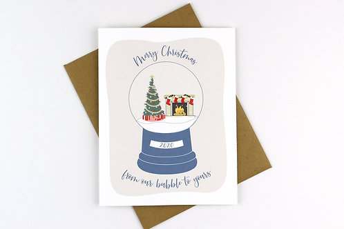 MERRY CHRISTMAS FROM OUR BUBBLE | CARD | WHOLESALE