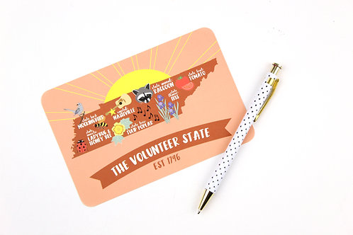 THE VOLUNTEER STATE | SET OF 3 OR MORE POSTCARDS