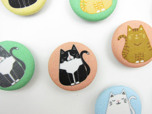 CUSTOM FAT CAT MAGNETS | READY IN 2 WEEKS
