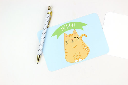FAT CAT | SET OF 6 POSTCARDS