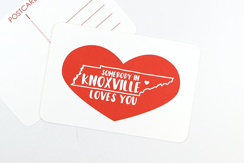SOMEBODY IN KNOXVILLE LOVES YOU | SET OF 3 OR MORE POST