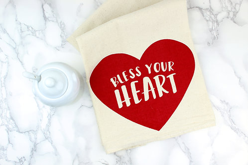 BLESS YOUR HEART | KITCHEN TOWEL