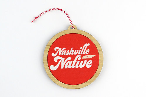 NASHVILLE NATIVE | ORNAMENT