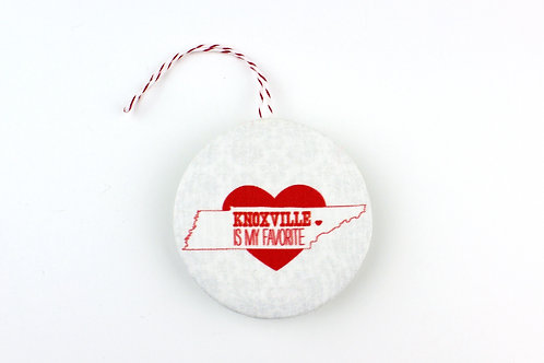 KNOXVILLE IS MY FAVORITE | ORNAMENT