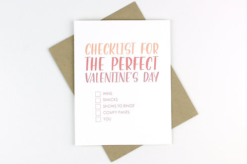 PERFECT VALENTINE'S DAY | CARD | WHOLESALE
