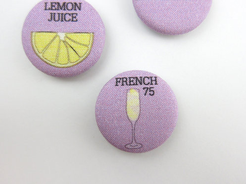 HOW TO MAKE A FRENCH 75 | SET OF 6 MAGNETS | WHOLESALE