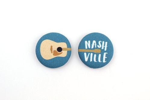 NASHVILLE GUITAR | SET OF 2 MAGNETS