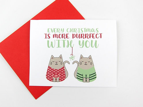 MORE PURRFECT   CARD