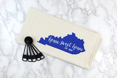 HOME SWEET HOME KENTUCKY   KITCHEN TOWEL