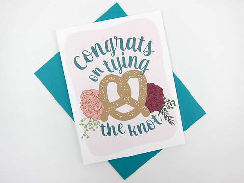 TYING THE KNOT | CARD
