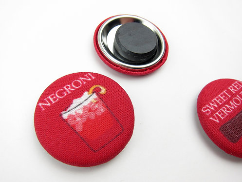 HOW TO MAKE A NEGRONI | SET OF 5 MAGNETS | WHOLESALE