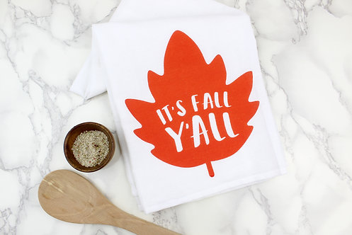 IT'S FALL Y'ALL | KITCHEN TOWEL