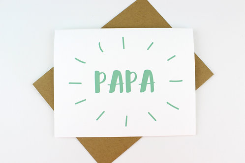 PERSONALIZED FATHER'S DAY | CARD
