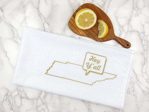 HEY Y'ALL TENNESSEE | KITCHEN TOWEL