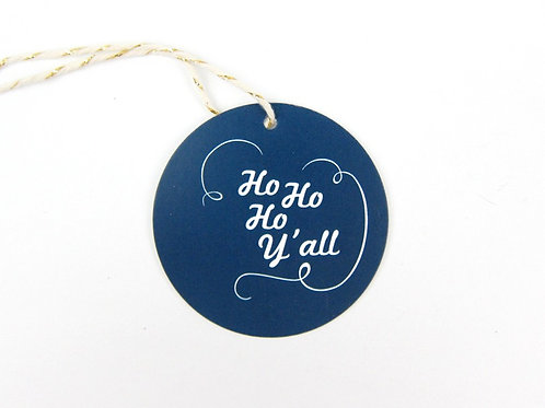 HO HO HO Y'ALL | SET OF 10 GIFT TAGS