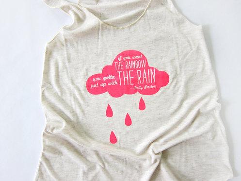 DOLLY RAIN QUOTE | WOMEN'S TANK