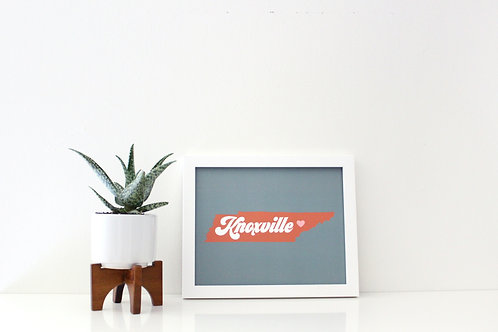 RETRO KNOXVILLE | PRINT