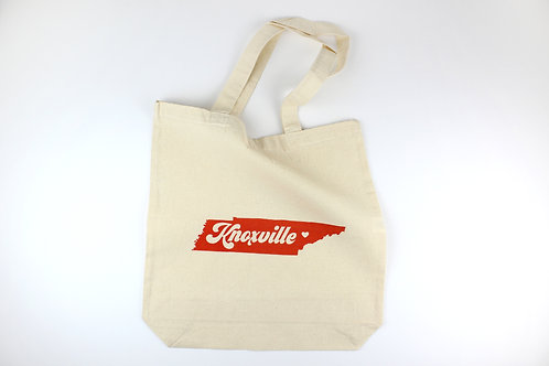 RETRO KNOXVILLE, NASHVILLE, OR LOUISVILLE | TOTE BAG