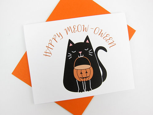 HAPPY MEOW-OWEEN | CARD