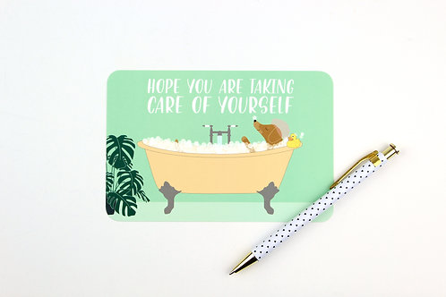 TAKE CARE OF YOURSELF | POSTCARDS | WHOLESALE