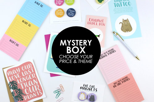 MYSTERY BOX | SAVE AT LEAST 30% | CHOOSE YOUR PRICE AND THEME