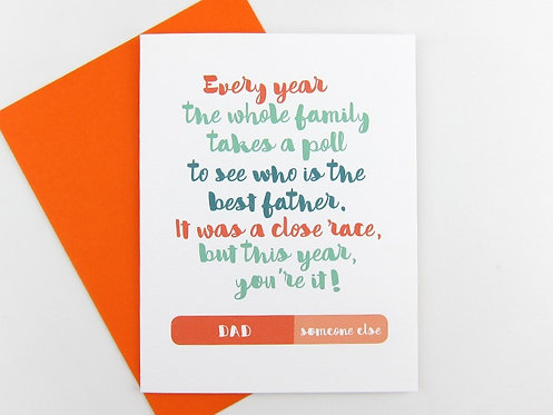 DAD POLL | CARD | WHOLESALE