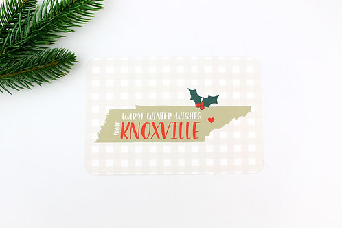 WARM WINTER WISHES FROM YOUR CITY | POSTCARDS | WHOLESALE