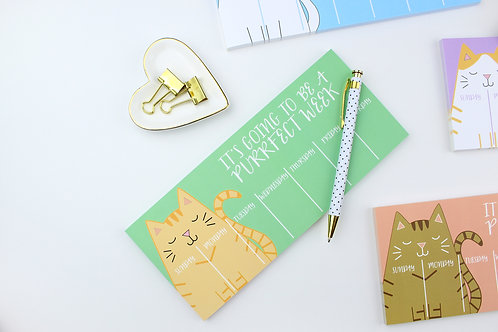 PURRFECT WEEK | NOTEPAD | WHOLESALE