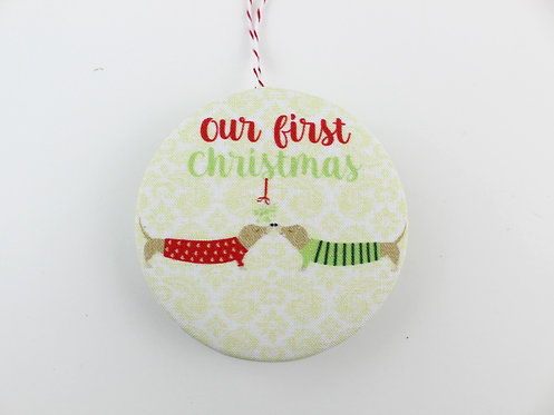 OUR FIRST CHRISTMAS - DOGS | ORNAMENT