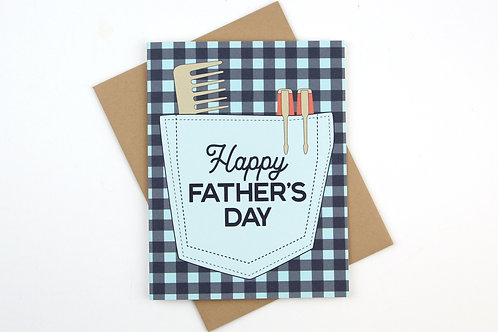 FATHER'S DAY PLAID SHIRT | CARD | WHOLESALE