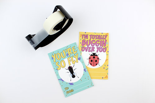 90s SAYINGS | SET OF 8 VALENTINES | WHOLESALE