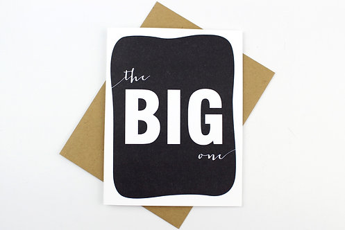 THE BIG ONE | CARD | WHOLESALE