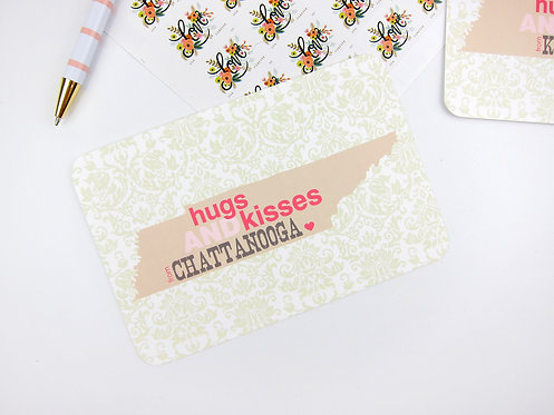 HUGS AND KISSES | POSTCARDS | WHOLESALE