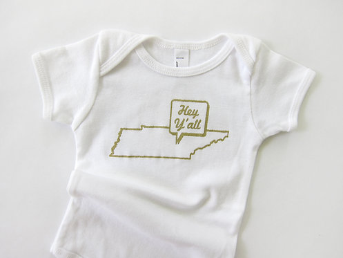HEY Y'ALL TENNESSEE | ONESIE