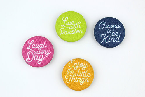 INSPIRATIONAL (NEW VERSION)| SET OF 4 MAGNETS | WHOLESALE