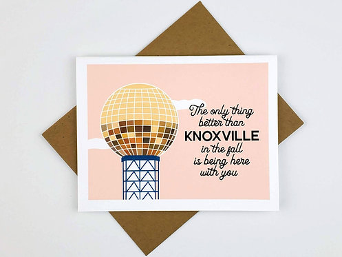 SUNSPHERE FALL BEING HERE WITH YOU | CARD