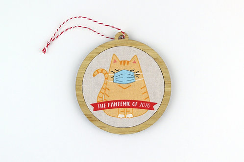 MASKED CAT | ORNAMENT